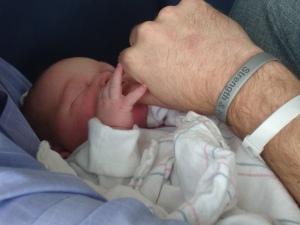 Baby Irene and Andrew