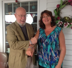 Fritz Wetherbee and Jeanettee