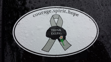 Think DIPG sticker