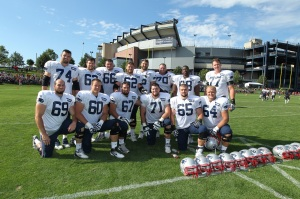 Think JBT from the Patriots O-Line