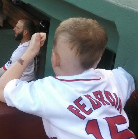 Pedroia Shout-Out