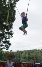 John jumping