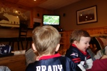 Watching the Pats