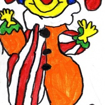 Elizabeth's B-Day Clown