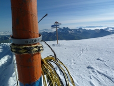 JBT at the top of Les Duex Alps, France