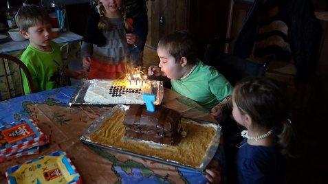 My Birthday Cakes!