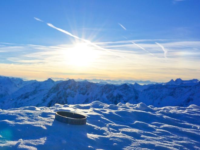 JBT at the peak of Solden, Austria