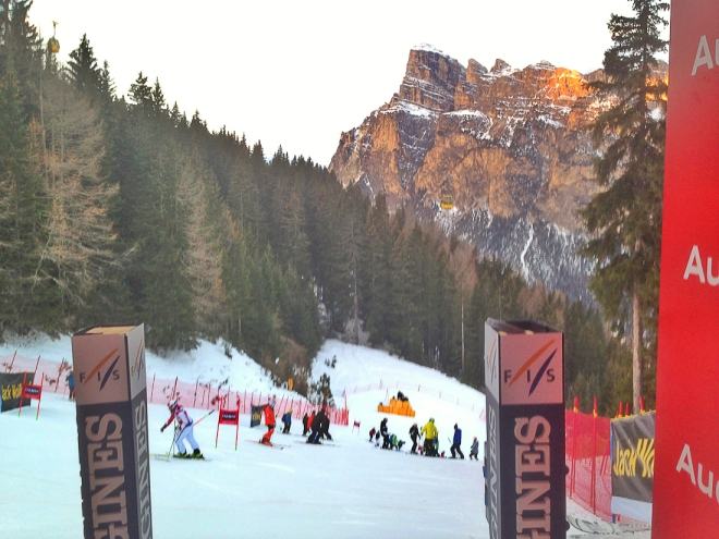 JBT at the start of Gran Risa World Cup in Italy